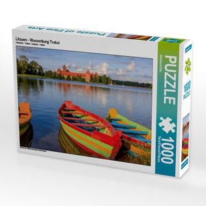 Litauen - Wasserburg Trakai 1000 Teile Puzzle quer