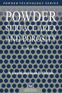 Powder Surface Area and Porosity