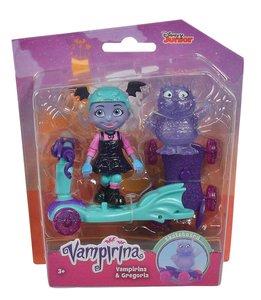 Simba 109422261 - Disney, Vampirina Roller, Vampirina & Gregoria