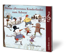 Meine allerersten Kinderlieder zum Advent, 1 Audio-CD