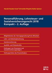 Personalführung, Lohnsteuer- und Sozialversicherungsrecht 2018 K