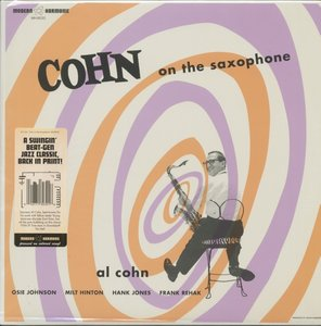 Cohn On The Saxophone (LP,Blue Vinyl)