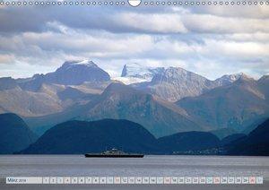 Norwegen - Hurtigruten (Wandkalender 2018 DIN A3 quer)