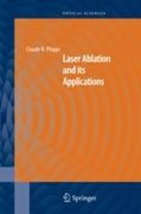 Laser Ablation and its Applications