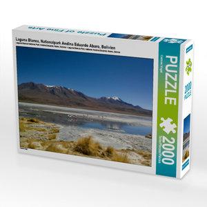 CALVENDO Puzzle Laguna Blanca, Nationalpark Andina Eduardo Abaro