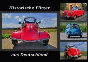 Historische Flitzer aus Deutschland (Tischaufsteller DIN A5 quer
