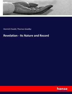 Revelation - Its Nature and Record