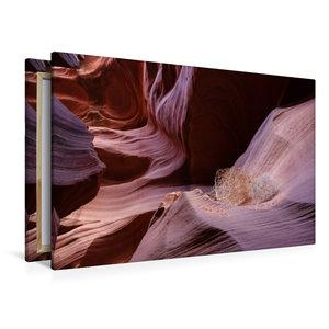 Premium Textil-Leinwand 120 cm x 80 cm quer Lower Antelope Canyo