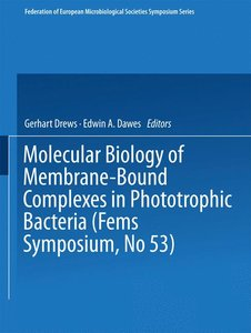 Molecular Biology of Membrane-Bound Complexes in Phototrophic Ba