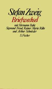 Briefwechsel mit Hermann Bahr, Sigmund Freud, Rainer Maria Rilke