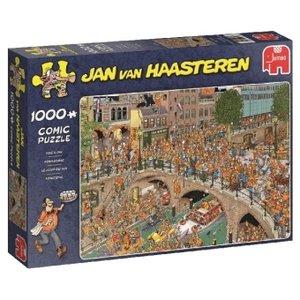 Jan van Haasteren - Königstag - 1000 Teile Puzzle
