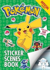 The Official Pokemon Sticker Scenes Book