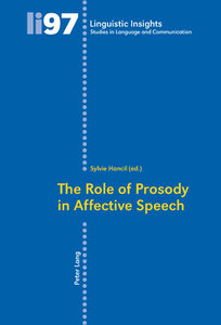The Role of Prosody in Affective Speech
