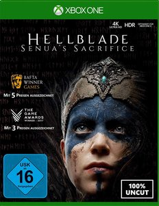 Hellblade: Senua\'s Sacrifice, 1 Xbox One-Blu-ray Disc