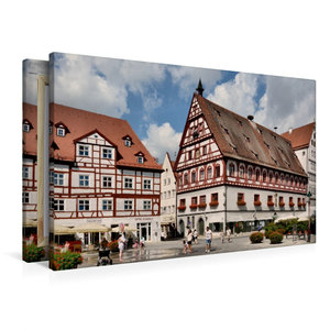 Premium Textil-Leinwand 90 cm x 60 cm quer Brot - und Tanzhaus