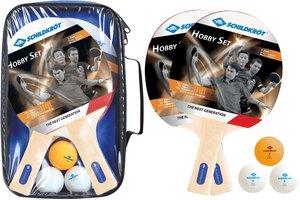 Donic-Schildkröt 788602 - Tischtennis Set Hobby für 2 Spieler, 2