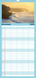 Fuerteventura - Familienplaner hoch (Wandkalender 2020 , 21 cm x