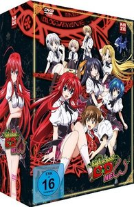 Highschool DXD New - DVD 1 + Sammelschuber