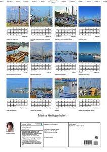 Marina Heiligenhafen (Wandkalender 2020 DIN A2 hoch)