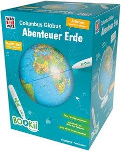 BOOKii WAS IST WAS Columbus Globus \'Abenteuer Erde\'
