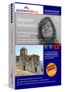 Albanisch-Aufbaukurs, PC CD-ROM mit MP3-Audio-CD