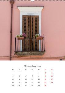 Dai Colori Vivaci - Fenster Italiens (Wandkalender 2019 DIN A2 h