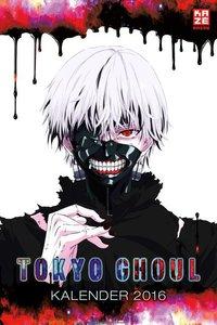 Tokyo Ghoul - Wandkalender 2016