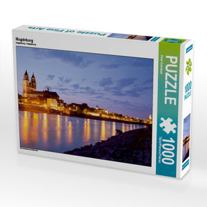 Magdeburg 1000 Teile Puzzle quer