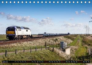Norddeutsche Eisenbahnen (Tischkalender 2019 DIN A5 quer)