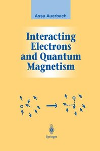 Interacting Electrons and Quantum Magnetism