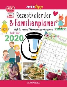 mixtipp: Rezeptkalender & Familienplaner 2020