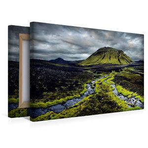 Premium Textil-Leinwand 45 cm x 30 cm quer New Life