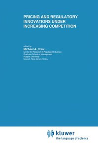 Pricing and Regulatory Innovations Under Increasing Competition