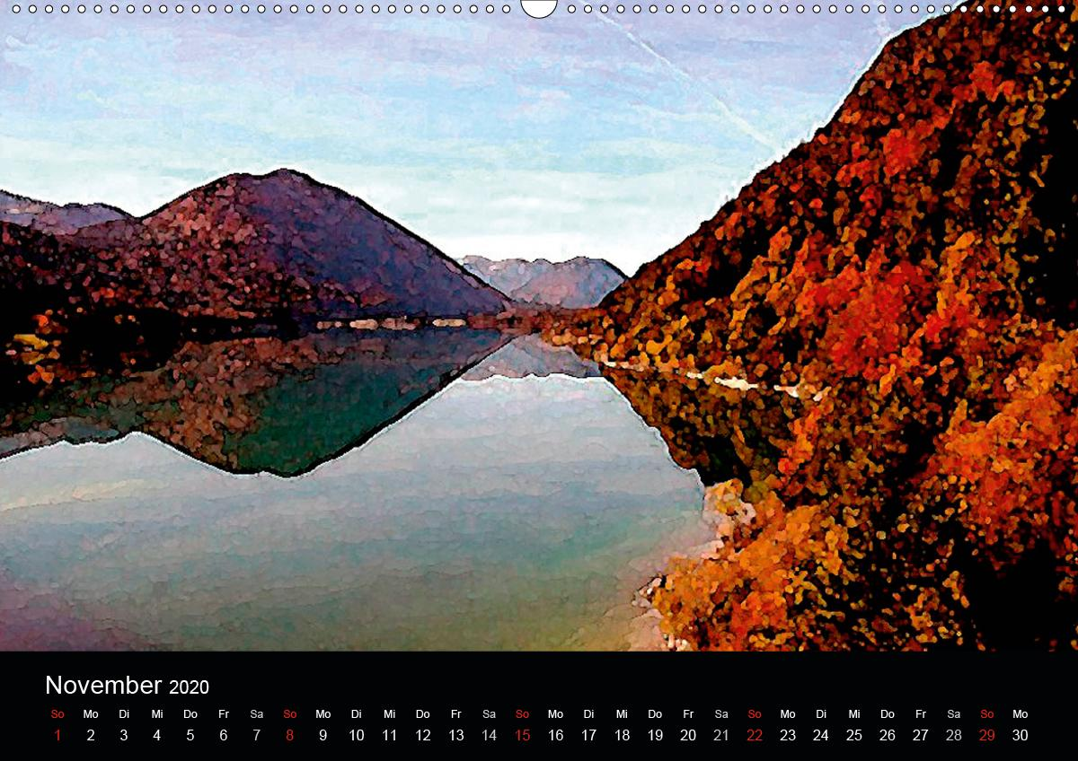 Fernsicht - Impressionen aus den Alpen - zum Schließen ins Bild klicken
