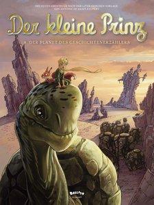Der kleine Prinz 08. Der Planet des Geschichtenerzählers