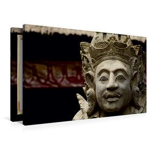 Premium Textil-Leinwand 90 cm x 60 cm quer Gottheit auf Bali