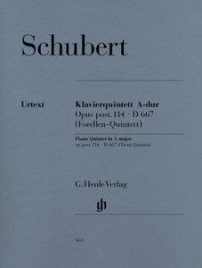 Quintett A-dur op. post. 114 D 667 für Klavier, Violine, Viola,