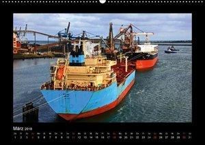Frachtschiffe -von Küste zu Küste-