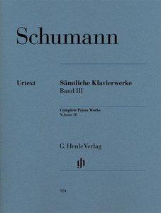 Sämtliche Klavierwerke 3