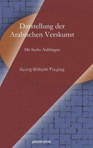 Darstellung Der Arabischen Verskunst Darstellung Der Arabischen