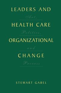 Leaders and Health Care Organizational Change