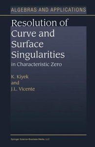 Resolution of Curve and Surface Singularities in Characteristic