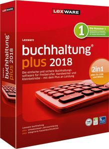 Lexware buchhaltung plus 2018, 1 CD-ROM