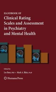 Handbook of Clinical Rating Scales and Assessment in Psychiatry