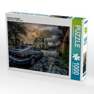 Chateau Z, Belgien 1000 Teile Puzzle quer