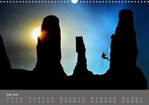 Bergsteigen - Extremsport am Limit (Wandkalender 2020 DIN A3 que
