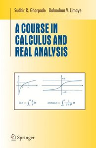 A Course in Calculus and Real Analysis