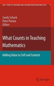 What Counts in Teaching Mathematics