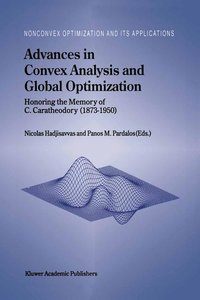 Advances in Convex Analysis and Global Optimization