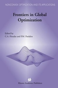 Frontiers in Global Optimization